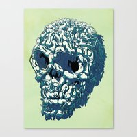 Bunny Skull Uprisings  Edition Canvas Print
