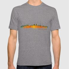 Kansas City Skyline Hq V… Mens Fitted Tee Tri-Grey SMALL