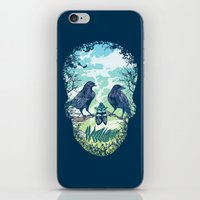 Nature's Skull iPhone & iPod Skin