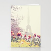 paris Stationery Cards featuring Paris by Gabriela Da Costa