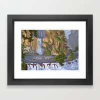Portrait Of A Kingdom: T… Framed Art Print