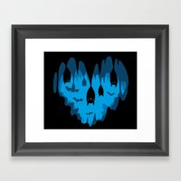 Bats Love Caves Framed Art Print
