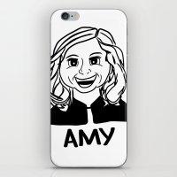 Amy Poehler iPhone & iPod Skin
