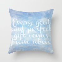 Throw Pillow featuring Comes From Above by Sweet Moments Captured