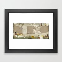 One Flew Over The Cuckoo… Framed Art Print