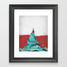 Windmill Framed Art Print