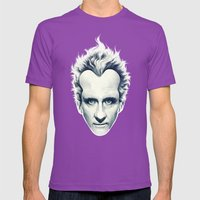 Escape From The Tropics … Mens Fitted Tee Ultraviolet SMALL