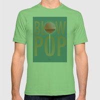 BLOW POP Mens Fitted Tee Grass SMALL