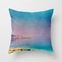 Dreamy Dead Sea II Throw Pillow