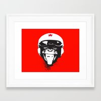 Flying Monkey Framed Art Print