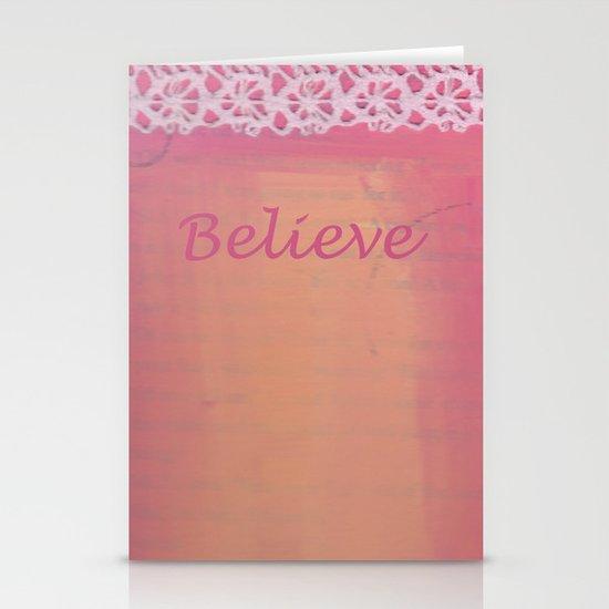 Believe #3 Stationery Card