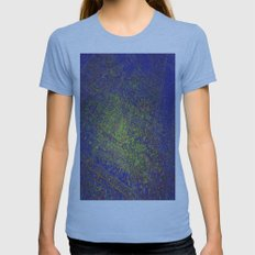 Bob Lives Here Womens Fitted Tee Athletic Blue SMALL