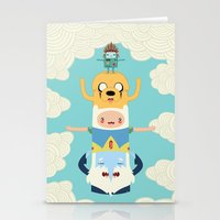 adventure Stationery Cards featuring Adventure Totem by Daniel Mackey