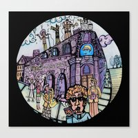 The band on the wall  Canvas Print