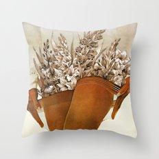 Gladiolous Throw Pillow