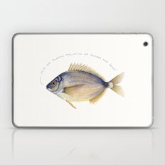 Stop the plastic pollution of oceans and seas! Laptop & iPad Skin