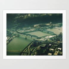 Mini Pittsburgh 2 Art Print