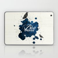 Bleu Corbeau Laptop & iPad Skin