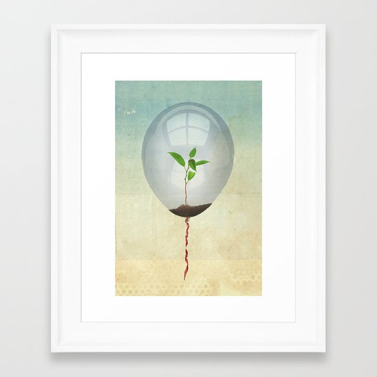 micro environment Framed Art Print