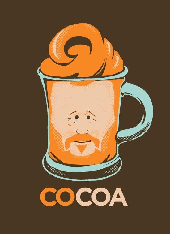 Hot COCOA Coco Art Print