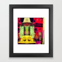 Industrial Abstract Twin… Framed Art Print