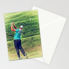 The Golf Swing Stationery Cards
