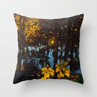 Something Magic Throw Pillow