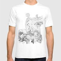 Old Woman Mens Fitted Tee White SMALL