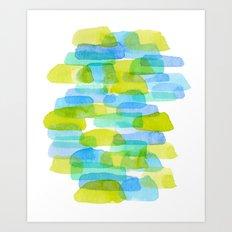 Watercolor 001 Art Print