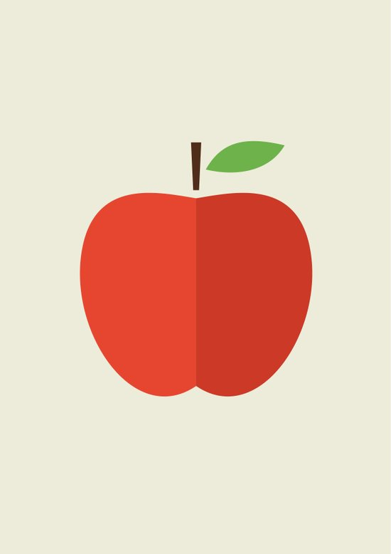 Apple 17 Art Print