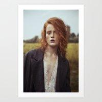 Anne Art Print
