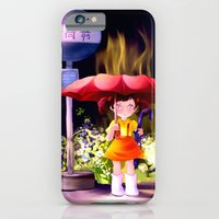 iPhone & iPod Case featuring Totoro by Peach Momoko