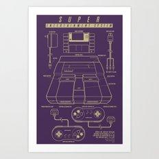 Super Entertainment Syst… Art Print