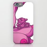 iPhone & iPod Case featuring T & T by Demon Noise