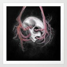 Skull Impression I Art Print