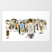 After It Rained At McCar… Art Print