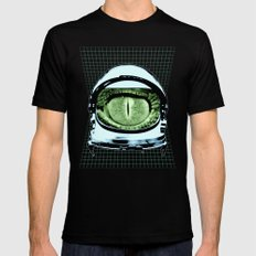 Astro Reptoid Black SMALL Mens Fitted Tee