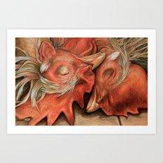 Love or Death Art Print
