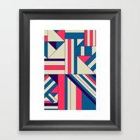 Geo1. Framed Art Print