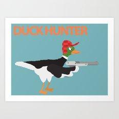DUCK HUNTR Art Print