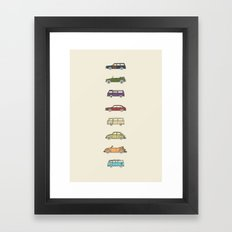 VWs Framed Art Print
