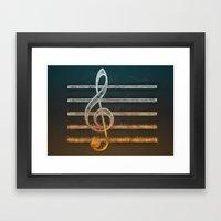 A Song Of... Framed Art Print
