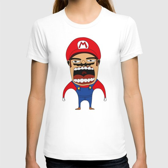 Screaming Mario T-shirt