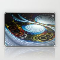 Swirls Laptop & iPad Skin