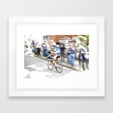 Fast Color  Framed Art Print