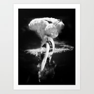 War Goddess Art Print