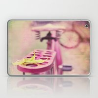 I Rode My Bicycle Past Your Window Last Night Laptop & iPad Skin