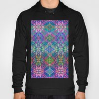 Fractal Art Stained Glass G375 Hoody