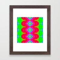 Summer Abstract Pattern I  Framed Art Print