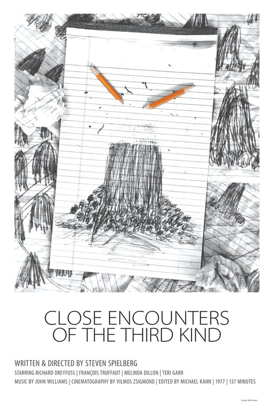 Close Encounters of the Third Kind (1977) Art Print